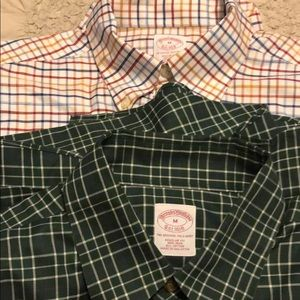 Brooks brothers long sleeve button down shirt.